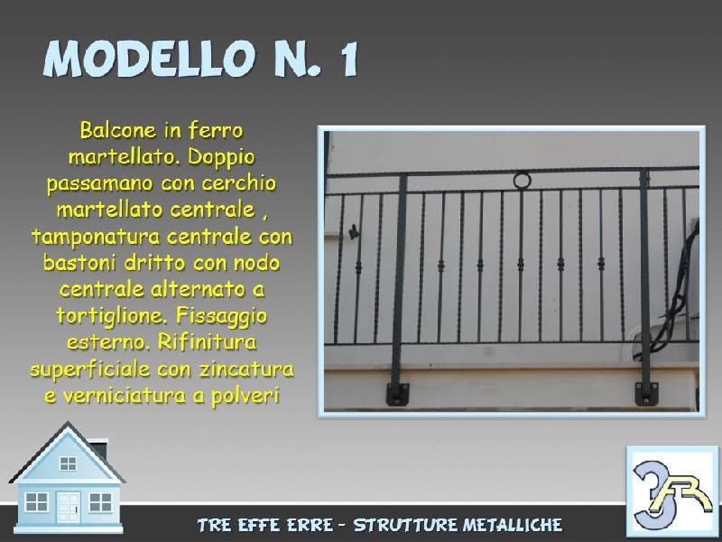 Ringhiere in ferro battuto per balconi esterni - Ringhiere in ferro battuto per balconi esterni ...